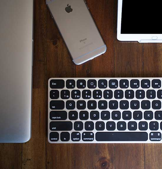 fdf8b3a88bb MultiSync Premium Slim Keyboard For Mac & iOS