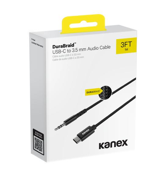 Kanex USB-C to 3.5mm Audio Jack Aux Cable