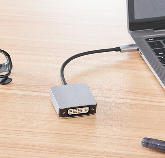 USB /& Gigabit Adapter with PD Function 15cm ~6 inch kenable USB 3.1 Type C to DVI