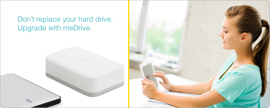wireless hard drive for your iPad and iPhone