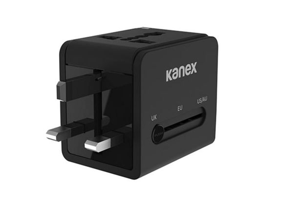 4-in-1 Power Adapter with 2 USB Ports