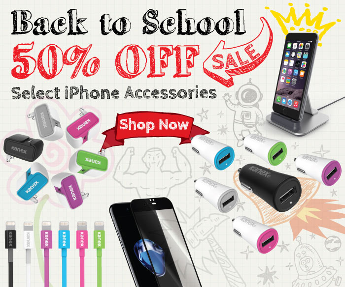 Kanex Back to school sale