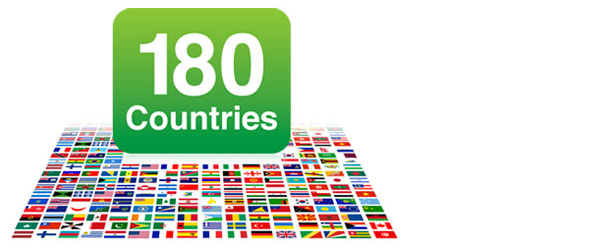 180 Countries