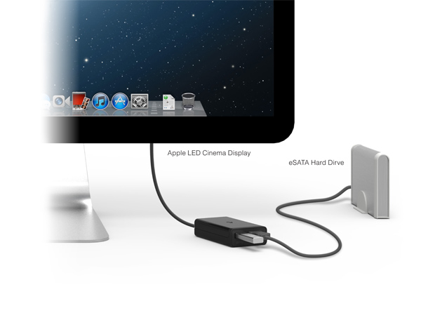 Thunderbolt To Esata Usb 3 0 Adapter