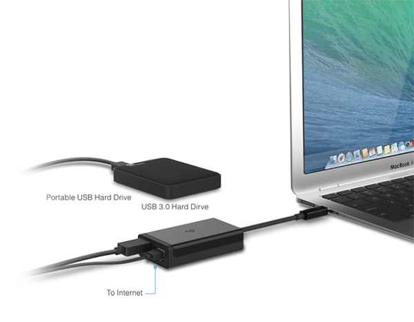 gigabit and usb 3.0 adapter