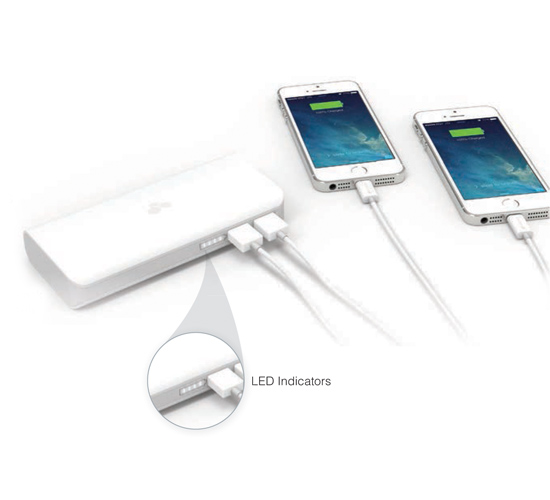 Power for both iPhone and iPad